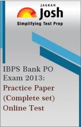 IBPS Bank PO Exam 2013: Practice Paper (Complete Set) - Online Test