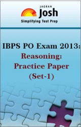 IBPS PO Exam 2013:Reasoning:Practice Paper(Set-1)