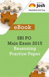 SBI PO Main Exam 2015: Reasoning: Practice Paper - eBook