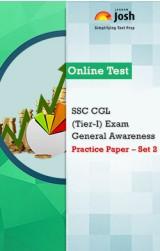 SSC CGL (Tier-I) Exam : General Awareness: Practice Paper (Set-2) Online Test