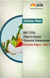 SSC CGL (Tier-I) Exam: General Awareness: Practice Paper (Set-1) Online Test