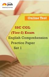 SSC CGL (Tier-I) Exam: English Comprehension: Practice Paper (Set-1) Online Test