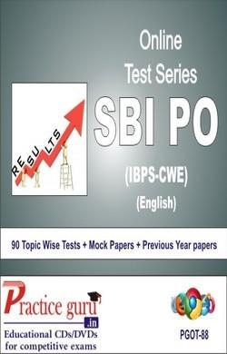 Practice Guru SBI PO , 90 Topic Wise Tests Mock Papers English Online Test