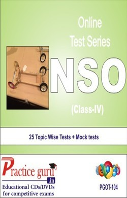 Practice Guru NSO Class 4 , 25 Topic Wise Tests Mock tests English Online Test