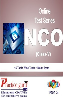 Practice Guru NCO Class 5 , 15 Topic Wise Tests Mock Tests English Online Test
