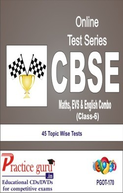 Practice Guru Class 6 - Maths, Science & English Combo , 45 Topic Wise Tests English Online Test