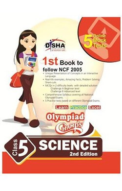 Olympiad Champs Science Class 5 with 5 Mock Online Olympiad Tests 2nd Edition