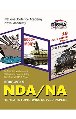 NDA/ NA 10 years Topic-wise Solved Papers (2006-2015) 3rd Edition