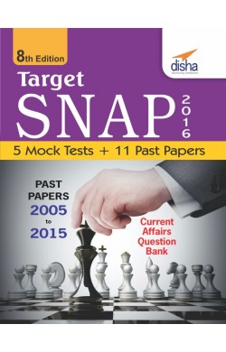TARGET SNAP 2016 (Past Papers 2005 - 2015) + 5 Mock Tests 8th Edition