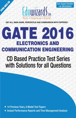 Eduwizards GATE 2016 Electronics and Communication Engineering - CD