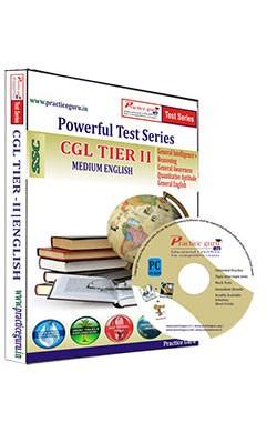 CGL Tier II Test Series English - CD