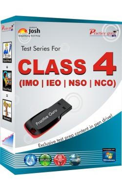 Pendrive Series Class 4 - Combo Pack (IMO / NSO / IEO / NCO) English