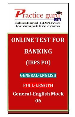 General-English Mock 06