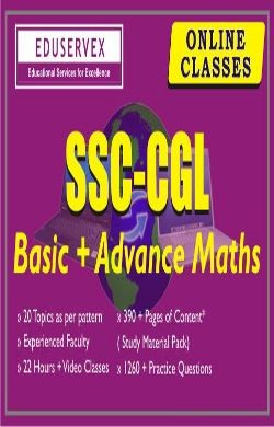 SSC CGL Basic + Advance Maths Online Course