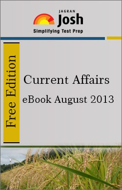 Free eBook Current Affairs August 2013