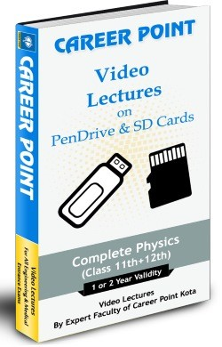 IIT JEE Main/Advanced/Pre Medical Complete Physics (1 Yr.) Pen Drive Video Lectures