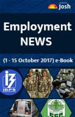 Employment News (1-15 October 2017) e-Book