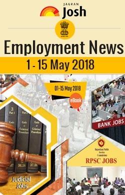 Employment News (1-15 May 2018) e-Book
