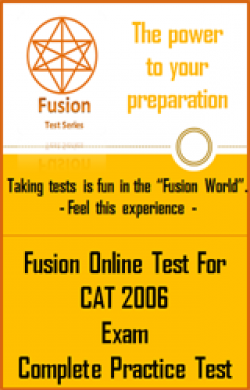 CAT 2006 Exam Full Test