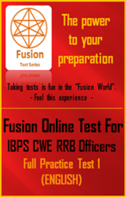 IBPS CWE RRB Officers Full Practice Test 1(English)