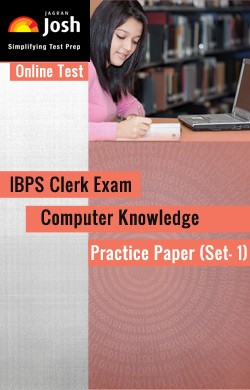 IBPS Clerk Exam 2014: Computer Knowledge: Practice Paper (Set-1) - Online Test