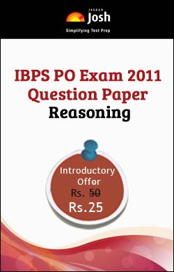 IBPS PO Exam 2011 Question Paper Reasoning - Online Test