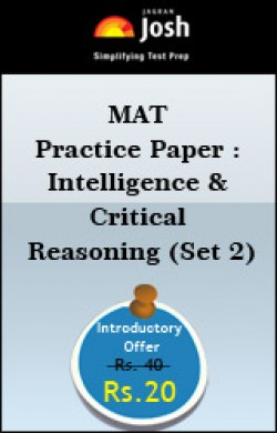 MAT Practice Paper : Intelligence & Critical Reasoning (Set 2)