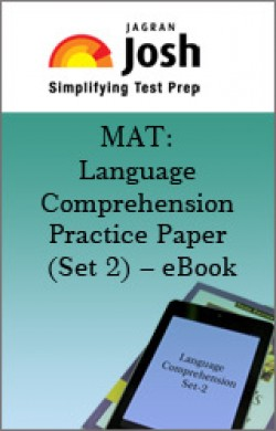 MAT: Language Comprehension Practice Paper (Set 2) – eBook