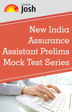 New India Assurance Assistant : Prelims Mock Test Series