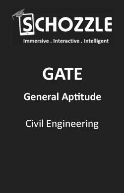 Civil Engineering General Aptitude