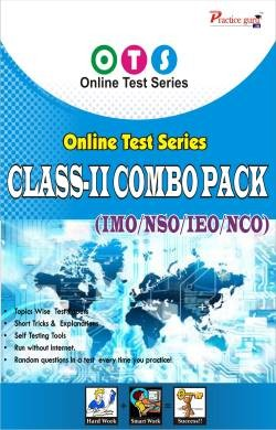 Topic Wise tests For  Class 2 - Combo Pack (IMO / NSO / IEO / NCO) - English