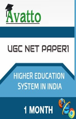 UGC NET Paper1 Test for Higher Education Sytem in India 1 by Avatto