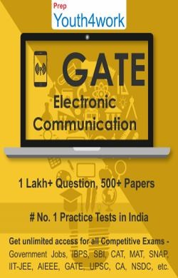 GATE Electronics and Communication Practice Tests Prep (Duration - 3 Months)