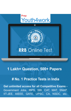 RRB Best Online Practice Tests Prep (Duration - 3 Months)