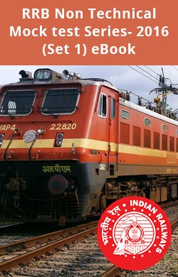RRB Non Technical Mock test Series- 2016 (Set 1) eBook