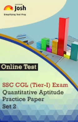 SSC CGL (Tier-I) Exam: Quantitative Aptitude: Practice Paper (Set-2) Online Test