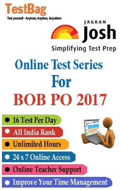 Bank Of Baroda Probationary Officer Exam (BOB PO)