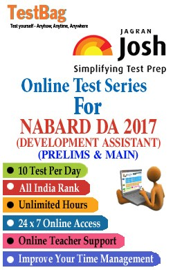 National Bank For Agriculture And Rural Development (Nabard) Assistants(Nabard Development Assistants) - Online Test