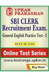 SBI Clerk Recruitment Exam General English Practice Test - 2