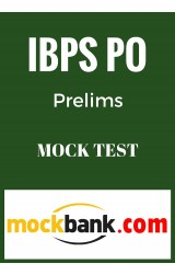 IBPS PO Prelims Mock Test - Series of 10 in English by Mockbank - Online Test