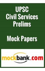 UPSC Civil Services Prelims English- 2 Mock Tests by Mockbank