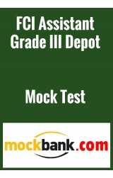 FCI Assistant Grade III Depot Mock Test Series - 2 Tests by Mockbank in English