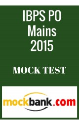 IBPS PO Mains Mock Tests - Series of 5 in English By Mockbank - Online Test