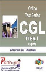 Practice Guru CGL Tier I , 85 Topic Wise Tests 5 Mock Papers English Online Test