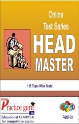 Practice Guru Headmaster , 115 Topic Wise Tests English Online Test