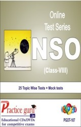 Practice Guru NSO Class 8 , 25 Topic Wise Tests Mock tests English Online Test