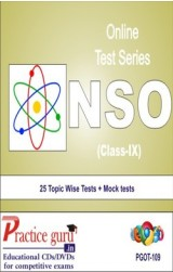Practice Guru NSO Class 9 , 25 Topic Wise Tests Mock tests English Online Test