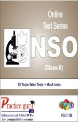 Practice Guru NSO Class 10 , 25 Topic Wise Tests Mock tests English Online Test