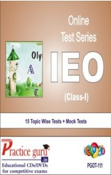 Practice Guru IEO Class 1 , 15 Topic Wise Tests Mock Tests English Online Test