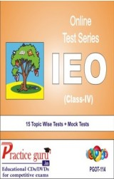 Practice Guru IEO Class 4 , 15 Topic Wise Tests Mock Tests English Online Test